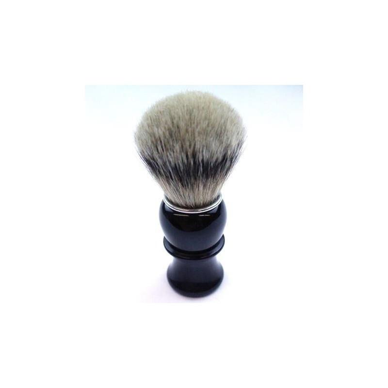 TI Silvertip Badger Black Horn Shave Brush