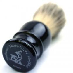 TI Pure Badger Black Plastic Shave Brush