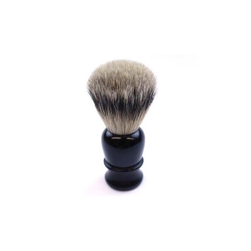 TI Super Badger Black Horn Shave Brush Thiers-Issard - 1