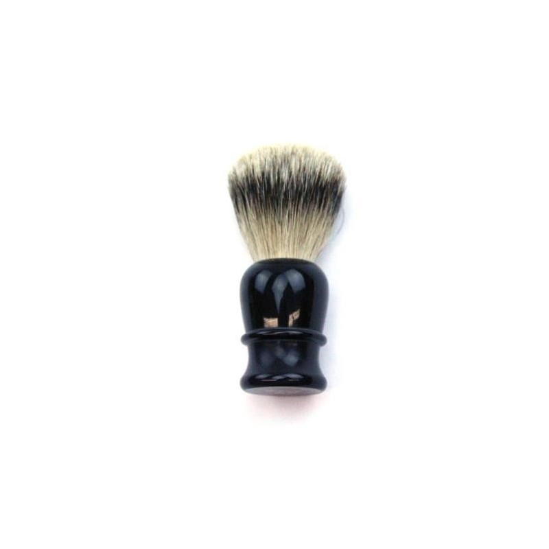 TI Super Badger Black Horn Shave Brush Thiers-Issard - 3