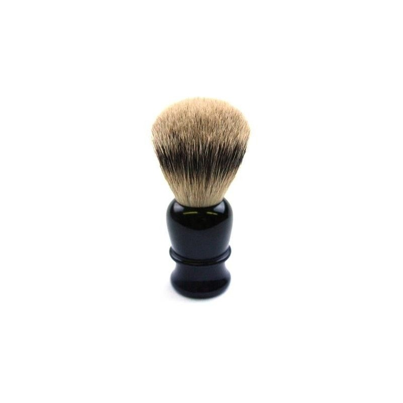 TI Super Badger Black Horn Shave Brush Thiers-Issard - 4