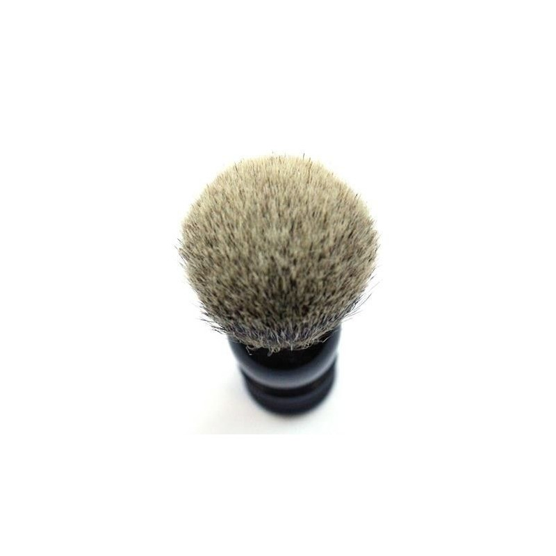 TI Super Badger Black Horn Shave Brush Thiers-Issard - 5
