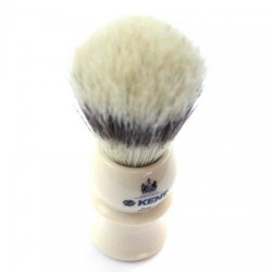 Kent Ivory Effect Bristle Shave Brush