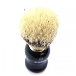 Kent Black Bristle Shave Brush from The Invisible Edge