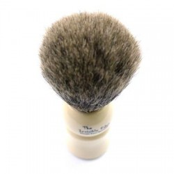 Invisible Edge Pure Badger White Shaving Brush
