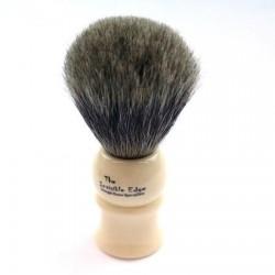 Invisible Edge Pure Badger White Shaving Brush