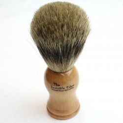 Invisible Edge Pure Badger Beech Shaving Brush