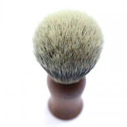 Invisible Edge Silvertip Rosewood Shaving Brush