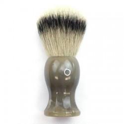 Custom Shaving Brush In Blonde Horn