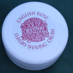Vulfix English Rose Shaving Cream Tub