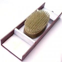 Kent Handmade Pure Bristle Oval Hairbrush Kent - 1