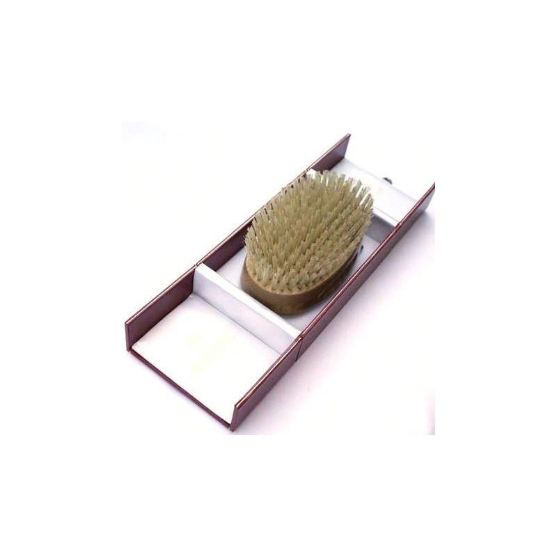 Kent Handmade Pure Bristle Oval Hairbrush