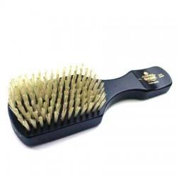 Kent Handmade Ebony Pure Bristle Hairbrush