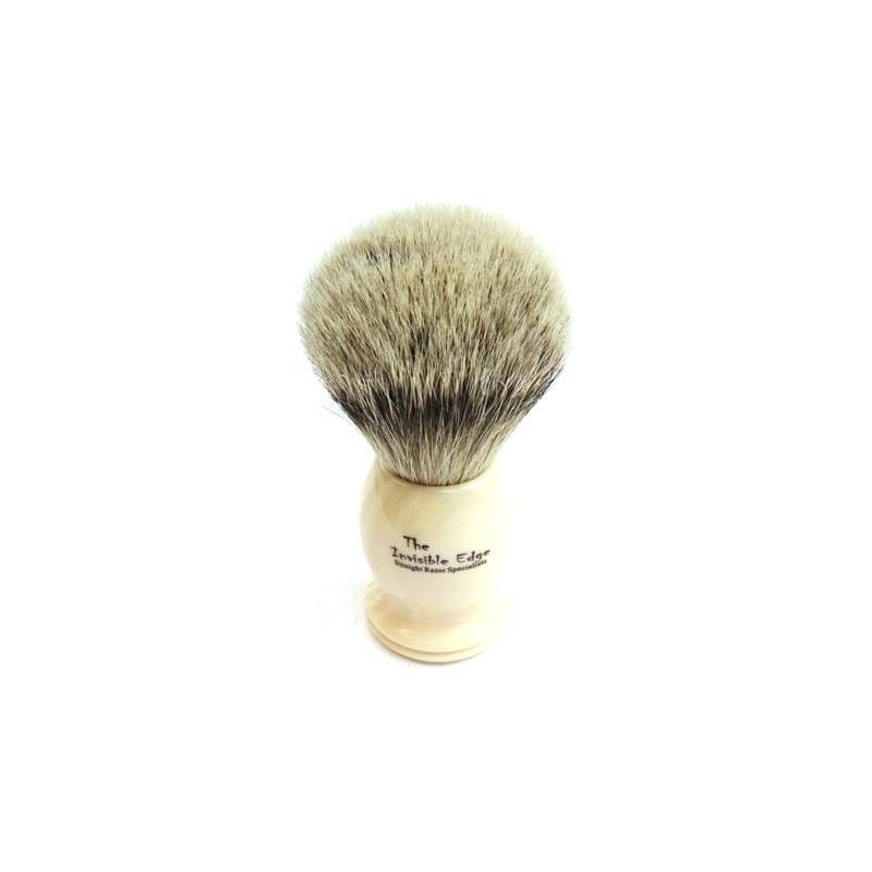 Invisible Edge Silvertip Badger Shaving Brush