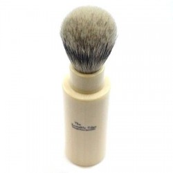 Invisible Edge Silvertip Badger Travel Shaving Brush
