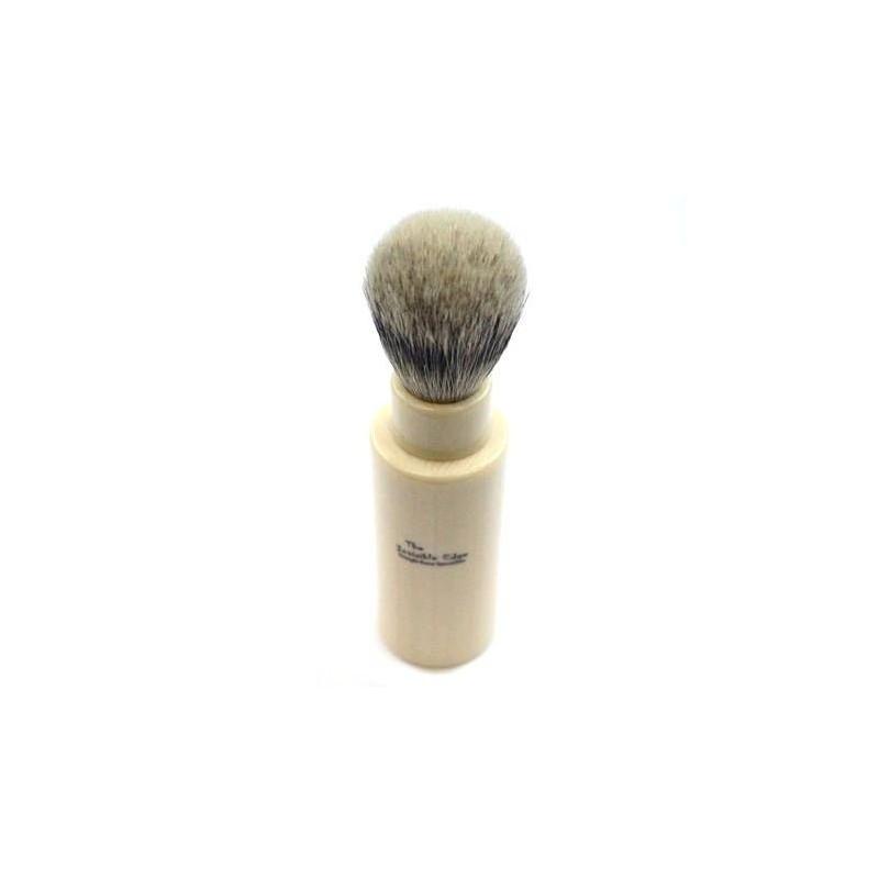 Invisible Edge Silvertip Badger Travel Shaving Brush