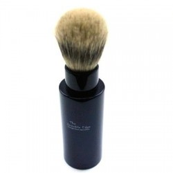 Invisible Edge Silvertip Badger Black Travel Shaving Brush
