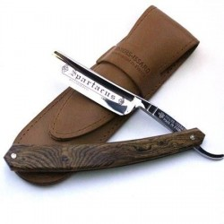 TI 5/8 Spartacus Razor With Bocote Scales Thiers-Issard - 1