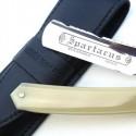TI 5/8 Blonde Horn Razor With Wheatfield Spine Design