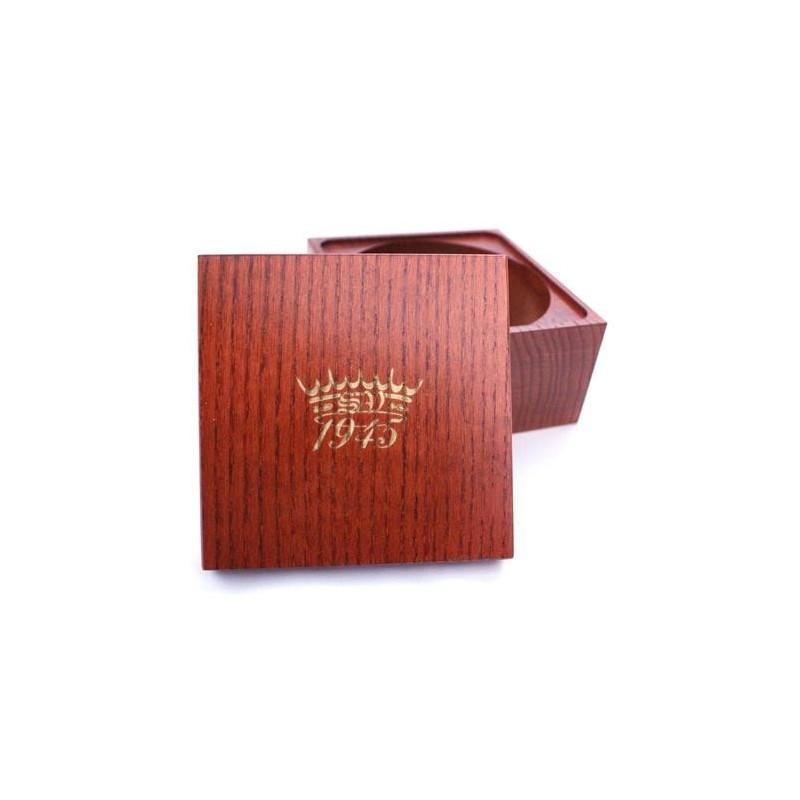 Saponificio Varesino Ash Wood Shave Soap Bowl  - Mahogany