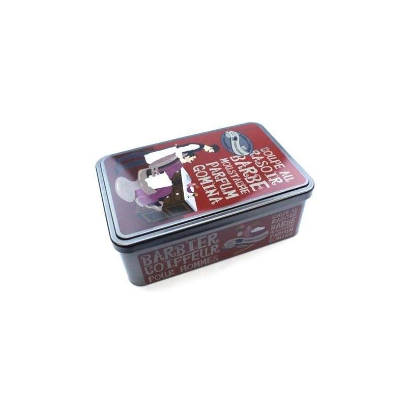 Thiers Issard Metal Barbier Box