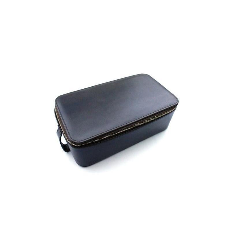 Daines & Hathaway Box Wet Pack in Brooklyn Gunsmoke Leather