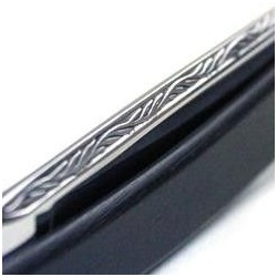 TI 6/8 Ebony Razor Leaf Spine and Eagle Marking