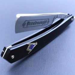 TI- 6/8 Dreadnought Razor with Masonic Inlay Design