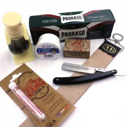 Invisible Edge Starter Kit Modern Proraso Version with Dovo Razor