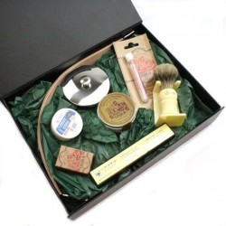 Gift Wrapped Cut Throat Razor Starter Kit