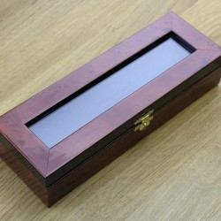 Thiers Issard Burl Elm Display Box For One Razor - Second Thiers-Issard - 2