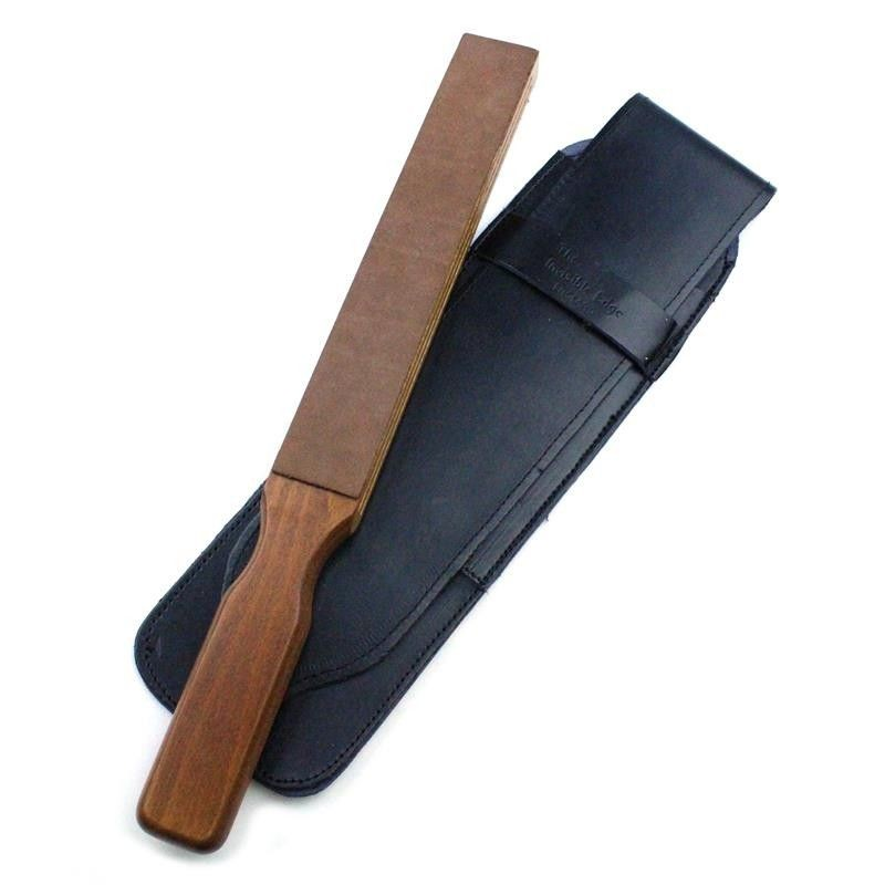 Invisible Edge luxury travel strop with black case