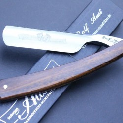 Ralf Aust 6/8 straight razor with snakewood scales