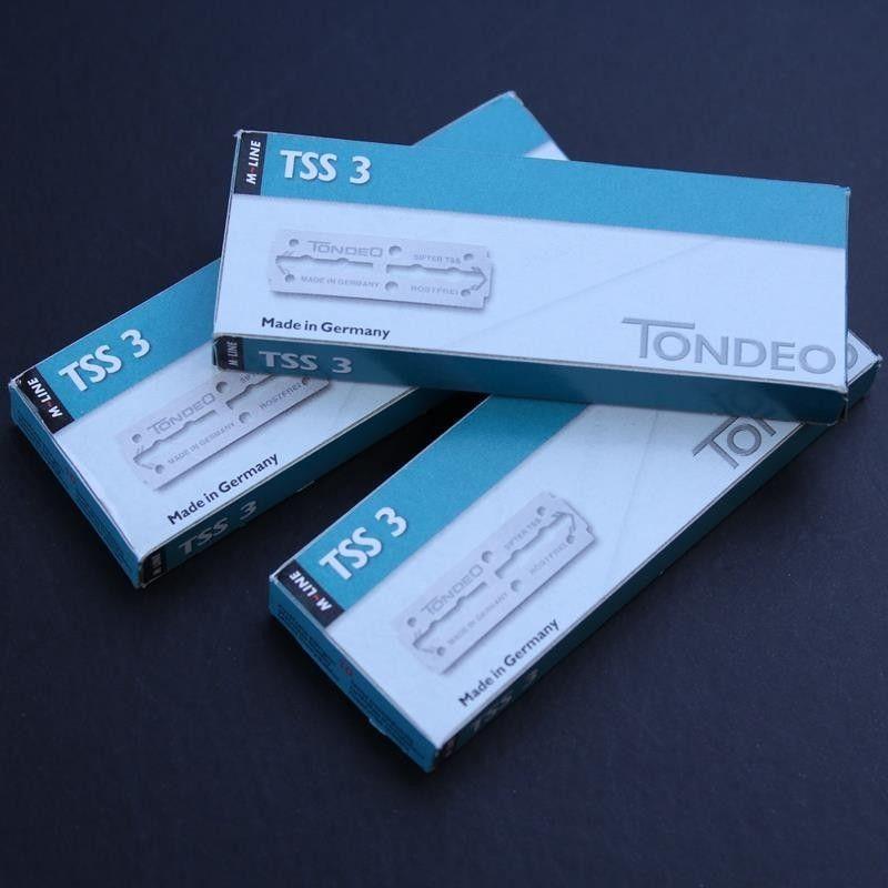 Tondeo TSS3 Shavette blades 3 pack