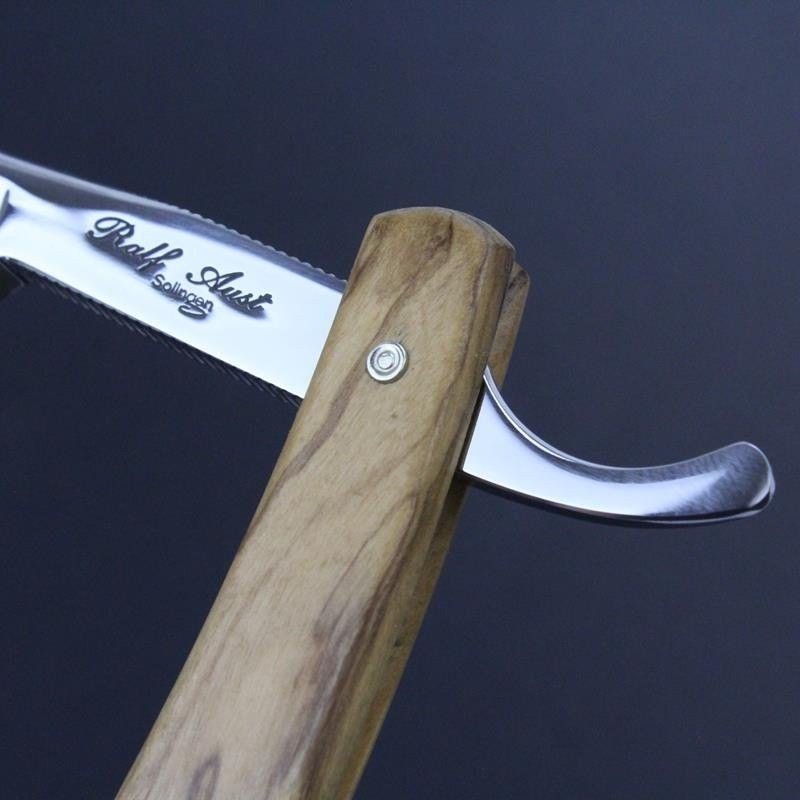 Ralf Aust 7/8 Razor with Olivewood Scales Ralf Aust - 5
