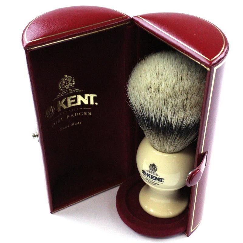 Kent BK8 Large Silvertip Badger Shaving Brush