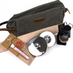 Shaving Starter Kit With Wash Bag The Invisible Edge - 1