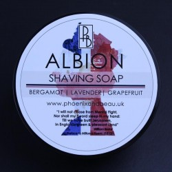 Phoenix & Beau Albion Shaving Soap