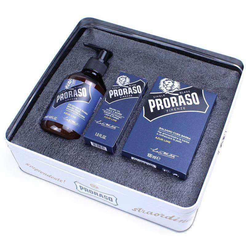 Proraso Beard Care Kit in Azur Lime