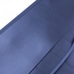 Invisible Edge Black Leather 7 Razor Roll