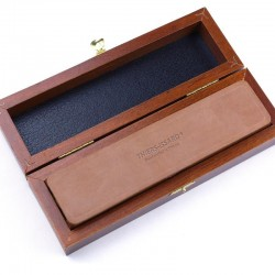 Deluxe Beech Box For Two Razors