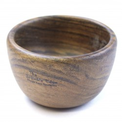 Invisible Edge Light Ebony Palm Bowl