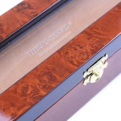 Deluxe Burl Elm Box For Two Razors