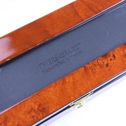 Deluxe Burl Elm Box One Razor