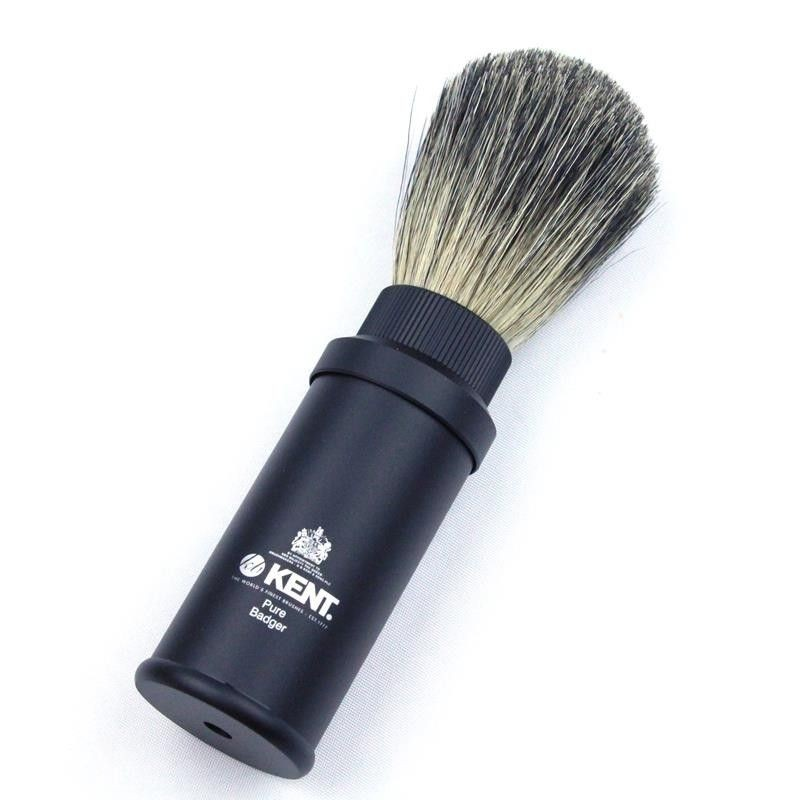 Kent Pure Badger Travel Brush