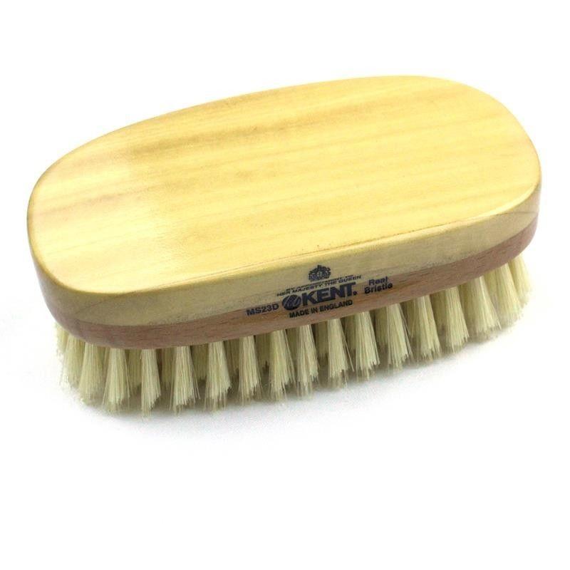Kent Rectangular Satinwood Hairbrush MS23D