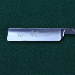 Ralf Aust 5/8 Square Point Razor with Modern Style African Blackwood Scales