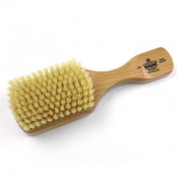 Kent Satinwood Soft Pure White Bristle Rectangular Club Brush