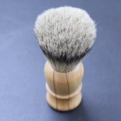 Thiers Issard Super Badger Olive Wood Shave Brush Thiers-Issard - 1