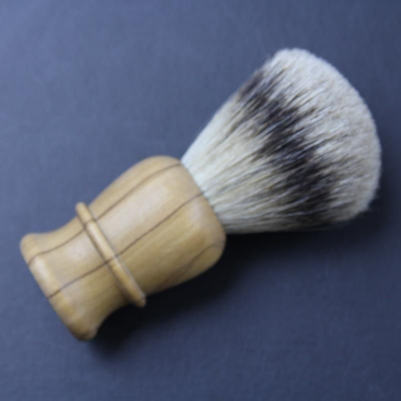 Thiers Issard Super Badger Olive Wood Shave Brush